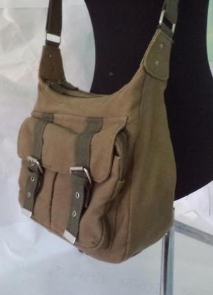 Фірмова стильна якісна сумка на плече від daniel ray