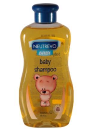 Шампунь для новорождённых 0+ с рождения neutrevo baby юнайс