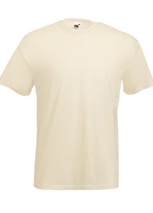 Базовая футболка телесного цвета