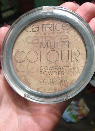 Пудра catrice multi colour
