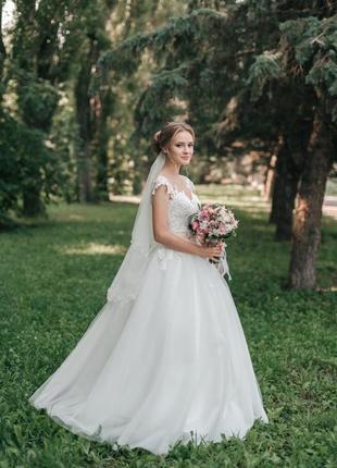 Свадебное платье / весільна сукня xs-s