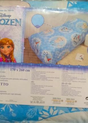Покрывало,одеяло на кровать,170/260,холодное сердце,ельза и анна