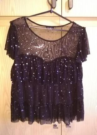Красивая блуза со звёздочками