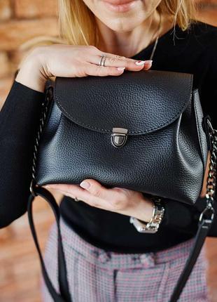 Черная сумка-клатч модная сумка кроссбоди