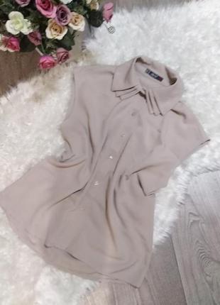 """Мила блузочка в стилі """"нюд""""!"""