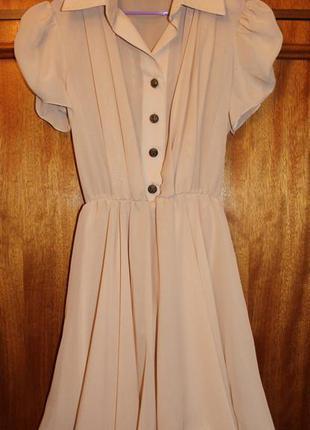 Шифоновое легкое платье, сарафан