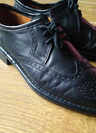 Якісні чоловічі туфли/ мужские кожаные туфли