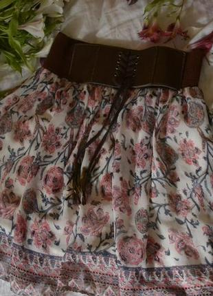 Дуже красива барвиста літня юбка