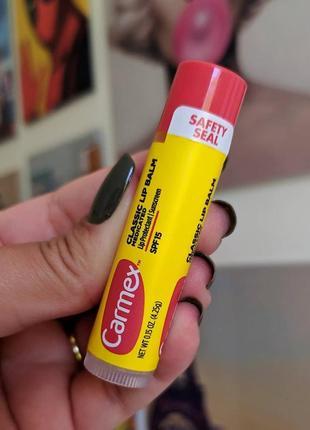 """Бальзам-стик для губ """"скорая помощь"""" carmex lip balm"""