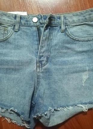 Шорты джинсовы