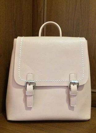 Городской рюкзак сумка пудрового цвета accessorize