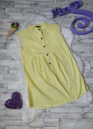 Блузка туника roberto bartoloni женская желтая