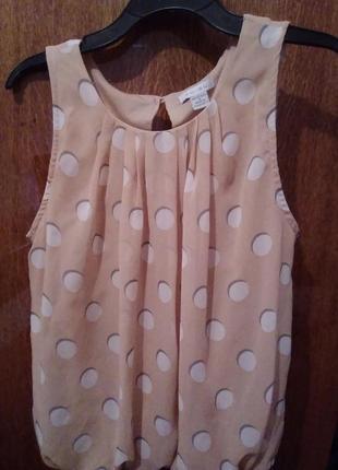 Летняя лёгкая блузка.
