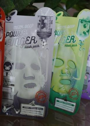 Тканинні маски для обличчя elizavecca