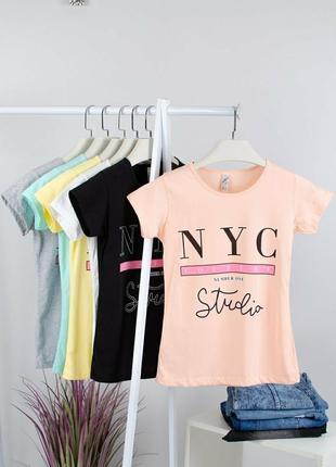 Модные женские футболки, турция, выбор расцветок
