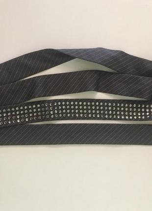 Пояс, галстук escada, камни сваровски