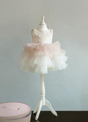 Платье зефирка нарядное в наличии