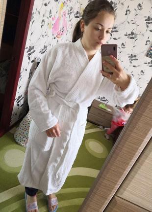 Новый халат размера с м.