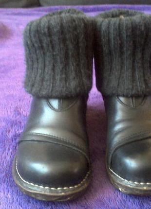 Шкіряні демі черевички el naturalista, іспанія