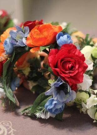 Цветочный обруч, украинский веночек