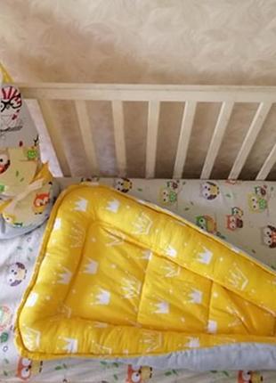 Кокон гнездышко и конверт одеяло на выписку
