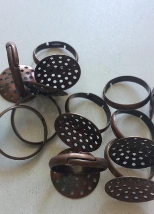 Фурнитура для украшений заготовки для колец