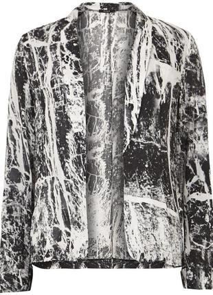 Классный штапельный кардиган блейзер накидка блуза от vila,p.s