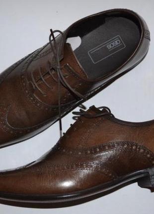 Туфли броги asos