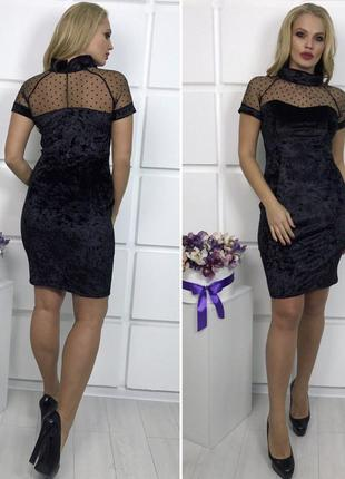 Женственная и утонченная модель платья