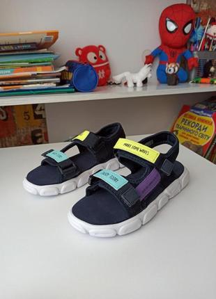 Яркие стильные босоножки сандалии reserved на мальчика 🏃🏃🏃