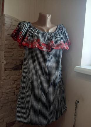 Плаття з пелериною new look