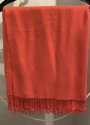 Красный шарф bershka