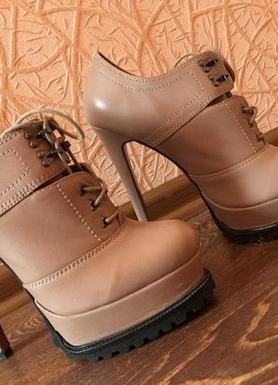 Обалденные сапожки (ботиночки ) от sexy fairy