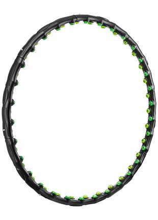 Обруч массажный с магнитами 4fizjo hula hoop 98 см