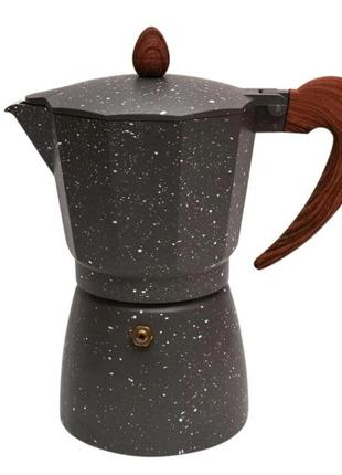 Кофеварка гейзерная+подарок набор помад, турка,кофейник, кофеварка