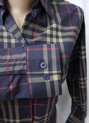 Приталенная рубашка s, xl