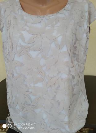 Нарядная блуза- футболка