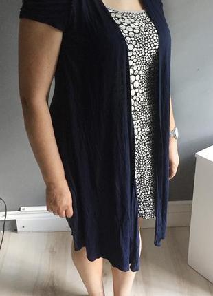 Платье  john rocha  / платье накидка / красивое платье