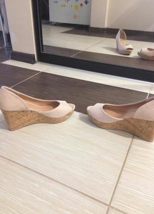 Туфли-босоножки женсие 39 разм.
