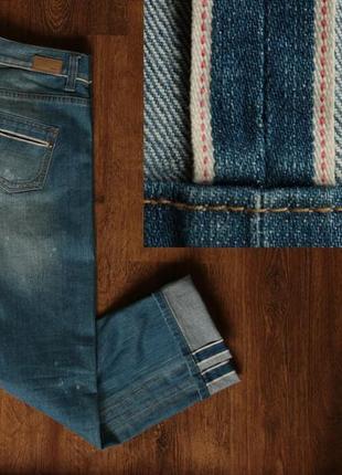 Женские сэлвидж джинсы esprit womens selvedge denim jeans