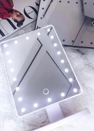Зеркало для макияжа с led подсветкой magic makeup mirror.