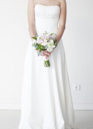Свадебное платье / не венчанное свадебное платье / греческое свадебное платье