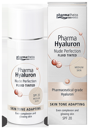 Pharma hyaluron nude perfection тонуючий флюїд