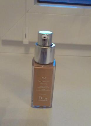 Крем тональный для лица с эффектом обнаженной кожи Christian dior diorskin nude skin-glowing makeup spf 15