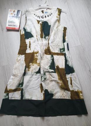 Котоновое платье vera wang