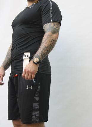 Мужская фирменная спортивная футболка under armour