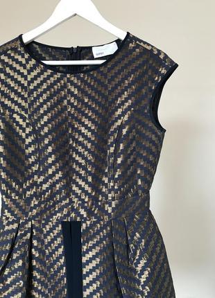 Вечернее женское мини платье с юбкой баской gipsy4 фото