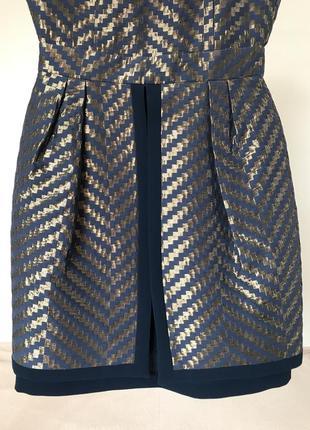 Вечернее женское мини платье с юбкой баской gipsy5 фото