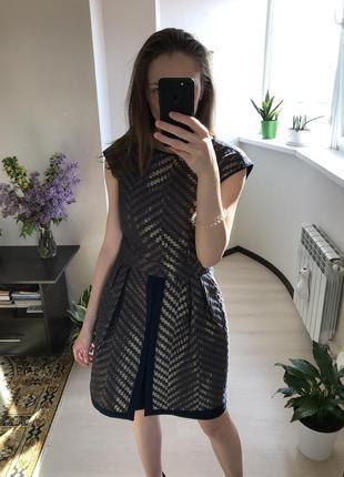 Вечернее женское мини платье с юбкой баской gipsy8 фото