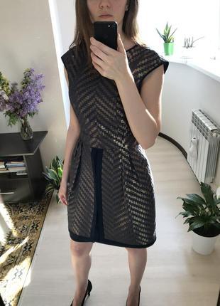 Вечернее женское мини платье с юбкой баской gipsy6 фото